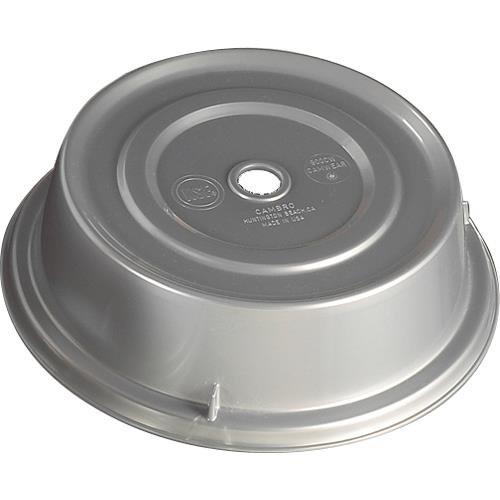 Cambro 1007CW486 Camwear Camcover Silver 10-5/8'' Plate Cover - 12 / CS
