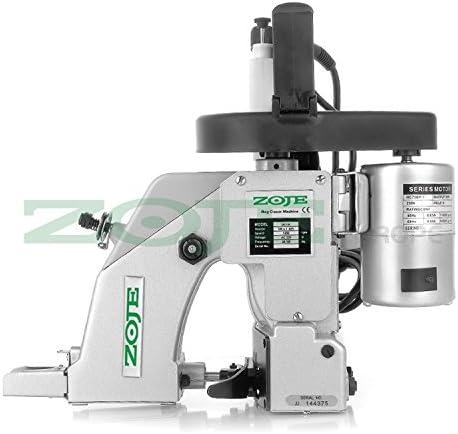 ZOJE Saco Máquina de Coser – sackzunähmaschine – 1 Hilos – La Industria industriales eléctrica: Amazon.es: Juguetes y juegos