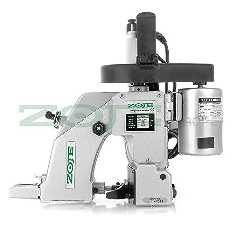 ZOJE Saco Máquina de Coser - sackzunähmaschine - 1 Hilos - La Industria industriales eléctrica: Amazon.es: Juguetes y juegos