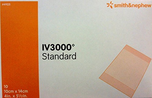 OpSite IV 3000 Dressing Part no. 4925 SMITH & NEPHEW INC. MMED-UNS4925 Box