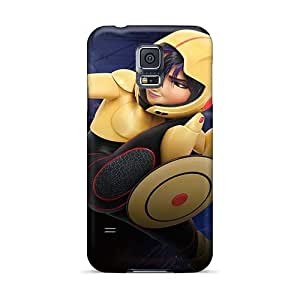 Perfect Cell-phone Hard Cover For Samsung Galaxy S5 With Customized Vivid Big Hero 6 Pattern AlainTanielian