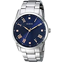 GUESS Men's Quartz Stainless Steel Watch, Color:Silver-Toned (Model: U1194G2)