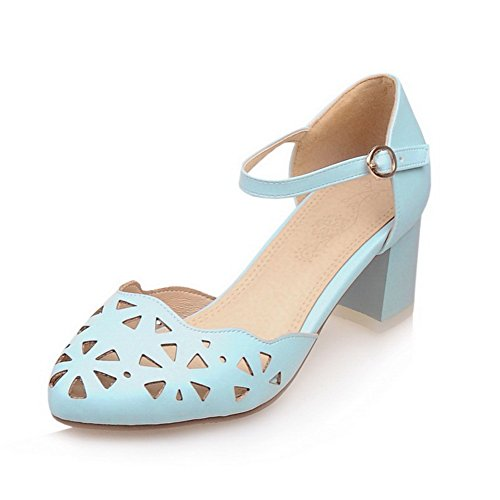 Sandales 5 Bleu 36 BalaMasa Compensées Bleu EU Femme 1ngdBf