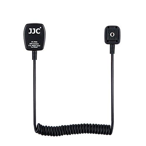 Flash TTL Cord JJC Off-Camera Flash Hot Shoe Cord for Nikon D7200 D5600 D5500 D5300 D5000 D3500 D3400 D3300 D3200 D850 D810 D750 D700 D500 D5 Replaces Nikon SC-28 cord -1.3m ()