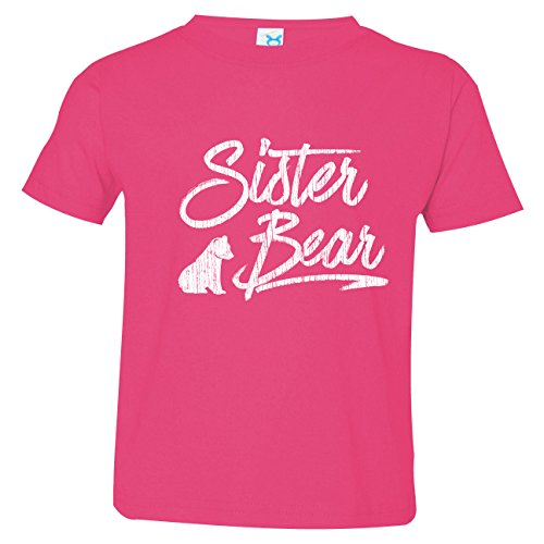 Texas Tees Sister Bear Shirt, Sister Bear Tee, Sibling Shirts Bear, Includes Large 14-16