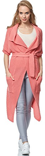 Merry Style Cardigan para mujer MSSE0028 Melocotón