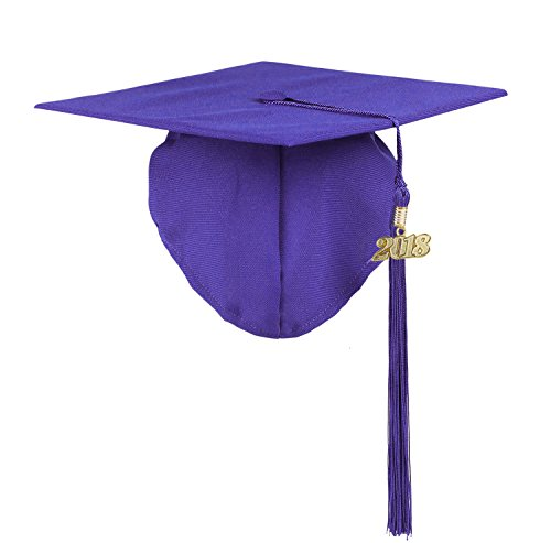Kindergarten Kids Baby Graduation Cap Photography---YesGraduation (Purple)