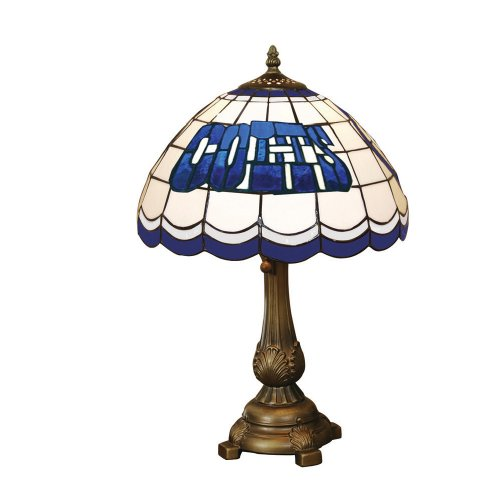 NFL Indianapolis Colts Tiffany Table Lamp