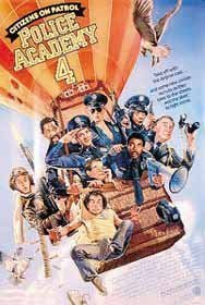 Police Academy 4 Original Movie Poster