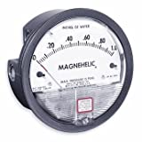Dwyer Magnehelic Series 2000 Differential Pressure Gauge, Range 0.05-0-0.20''WC