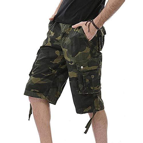 Pantaloni Jeans Sportivi Cargo Ranger Chino Da Armee Especial Di Esterno grün Mimetici Uomo Estilo R Field 88 Bobo Stoffa Army 8gf155