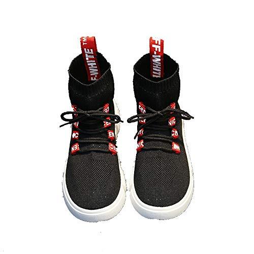 Suelas Zapatillas Alta Caucho Negro Deportivo Calzado XINGMU De xPtw6I6p