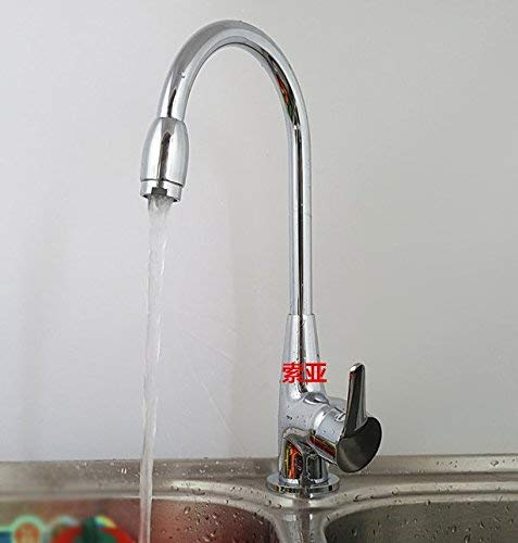 Oudan Vegetables single hole single handle hot and cold stainless steel sink faucet