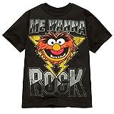 Disney Organic ''Me Wanna Rock'' Animal Muppet Tee for Boys