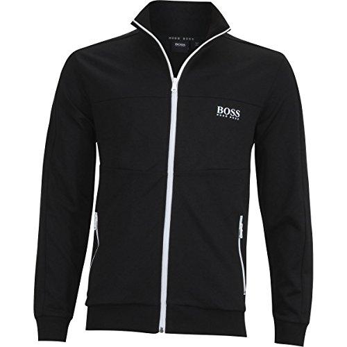 HUGO+BOSS+Men%27s+Jacket+Zip+1%2C+Black%2C+L