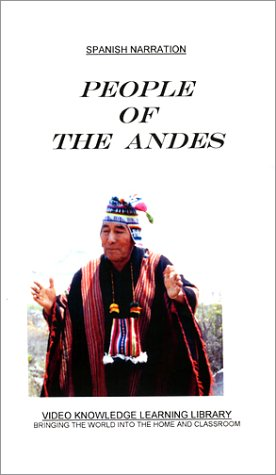 Spanish Narration - People of The Andes [VHS]