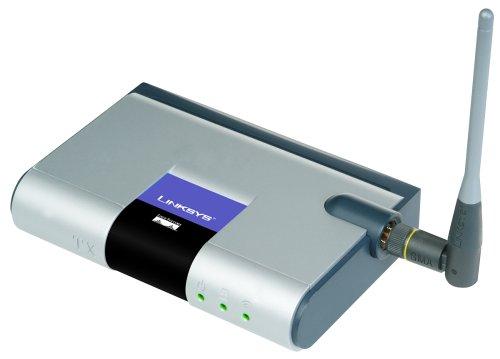 Cisco-Linksys WMB54G Wireless-G Music Bridge (Linksys Wireless Bridge)