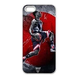 C-EUR Diy Derrick Rose Hard Back Case for Iphone 5 5g 5s