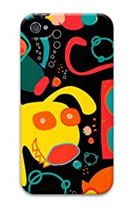 Iphone 4 4s 3D PC Hard Shell Case Cute Pattern by Sallylotus