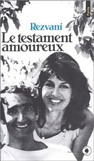 Le Testament amoureux par Serge Rezvani