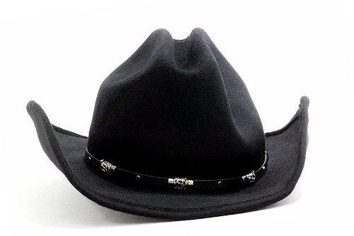 Blue Chair Bay Men s Cattleman Black Wool Cowboy Western Hat (Medium) - Buy  Online in UAE.  40fd7ee114c6