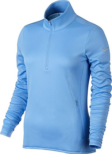 (Nike Thermal 1/2 Zip Golf Pullover 2015 Womens University Blue XX-Large)