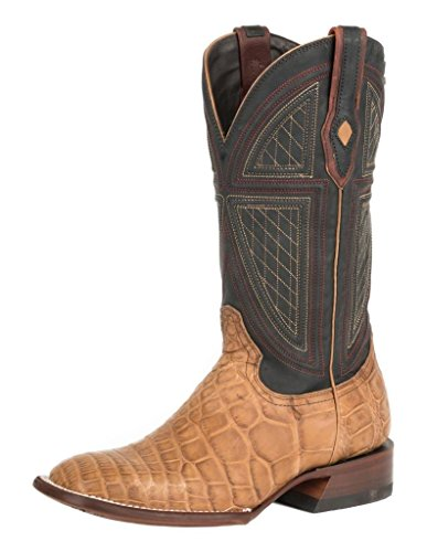 Stetson Western Boots Mens Flaxville Leather Tan 12-020-1952-0418 Ta Tan