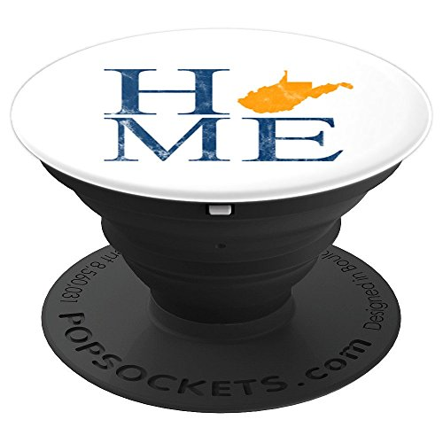 West Virginia is Home Stacked Letters Mobile Accessory - PopSockets Grip and Stand for Phones and Tablets
