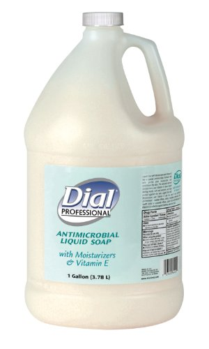 Moisturizer Liquid Dial (Dial Professional 84022 Liquid Dial Antimicrobial Soap With Moisturizers 1 Gallon (4-Pack))