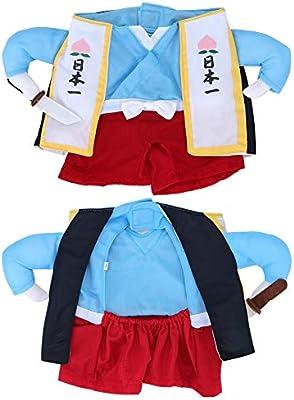 Disfraz de Samurai Vertical para Perro o Gato, Halloween, Navidad ...