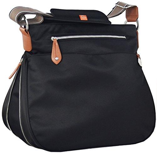 (Pacapod Diaper Bag - Portland Black)