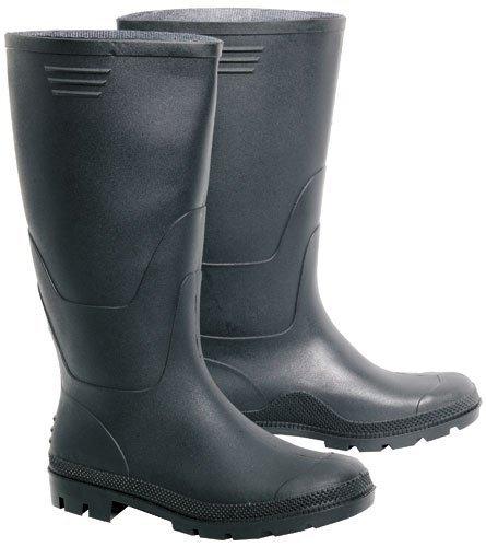 taglia di Stivali 50 gomma nero 36 fino qZna6B