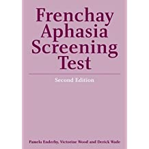 The Frenchay Aphasia Screening Test Score Summary Forms only (Packs of 24)