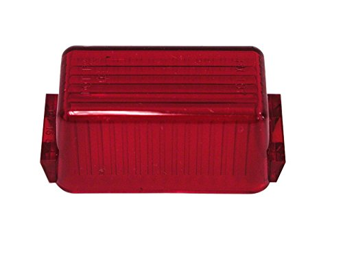 Peterson Mfg. 107-15R RV Trailer Camper Lighting Replacement Red (15 Replacement Lens)