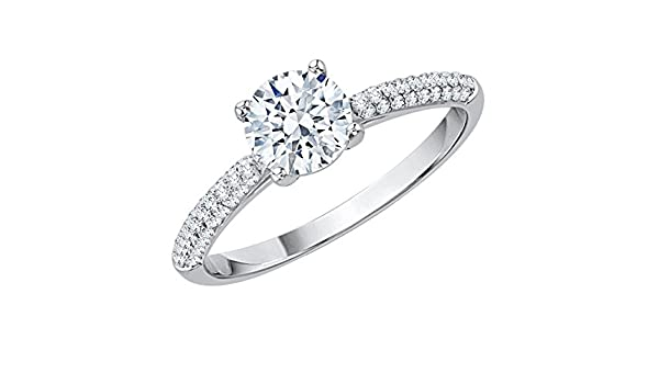 Diamond Wedding Band in Sterling Silver Size-10.5 G-H,I2-I3 1//4 cttw,
