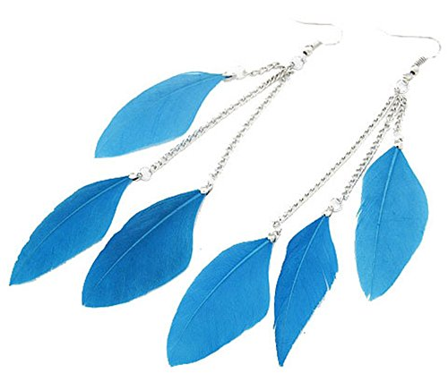 AnVei Nao Feather Earrings Fashion Jewelry