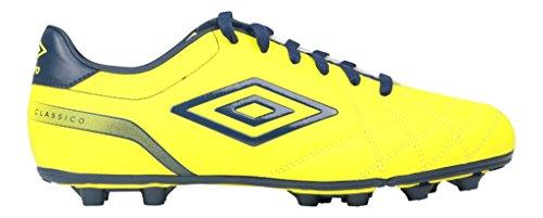 Umbro - Botas de fútbol de Material Sintético para hombre amarillo amarillo