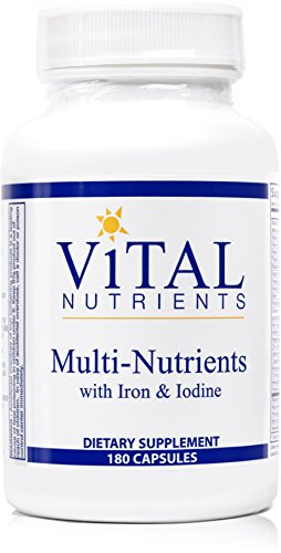 Vital-Nutrients-Multi-Nutrients-with-Iron-Iodine-Comprehensive-Multi-VitaminMineral-Formula-Containing-Iron-and-Iodine-180-Capsules