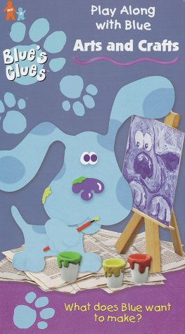Blue's Clues - Arts & Crafts [VHS] by Nickelodeon Network