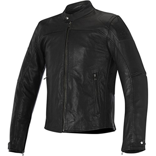 Alpinestars Brera Airflow Men's Street Motorcycle Jackets - Black / 58