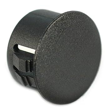 "1//2/"" HOLE PLUGS Nylon Plug Buttons Depressed Center 25 Firewall Holes"