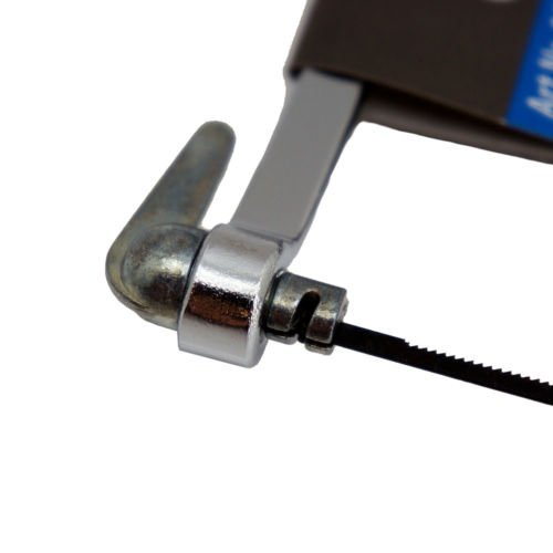 Metalls/ägebogen mit Holzgriff Metalls/äge 150 mm