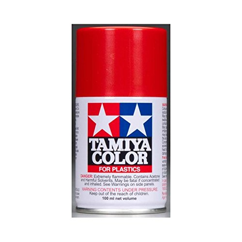 Spray Lacquer TS-85 Bright Mica Red - 100ml Spray Can 85085 (Spray Red Ferrari)