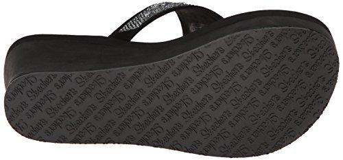Skechers Noir blk Femme Factor Pinups Wow Plateau Sandales vrwqxfvFY