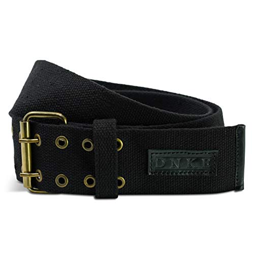 Damn Near Wide Kilt 'Em Classic Wide Kilt Belt Large Size Black Cotton