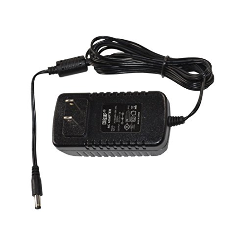 HQRP AC Power Adapter for Amped Wireless High Power Wireless-N 600mW Gigabit Router R10000G / Smart Router R10000 / Gigabit Dual Band Router R20000G, Power Supply Cord [UL Listed] + Euro Plug Adapter