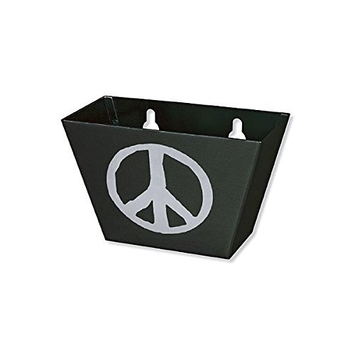Black Medium Metal Peace Sign Cap Catcher Review