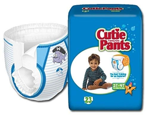 Cutie Training Pants, Boys 3T-4T (32-40 Lbs) - 1/Pack of ()