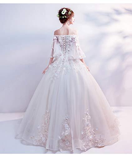c6ac63845102b JKTOWN ブライダル ウェディングドレス 結婚式 花嫁 パーティー 披露宴 レディースワンピース 極上ドレ ス 高級ドレス