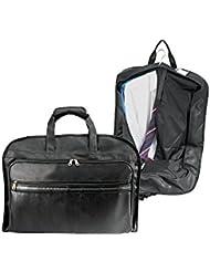 U.S. Traveler Koskin Leather Carry-On Garment Bag